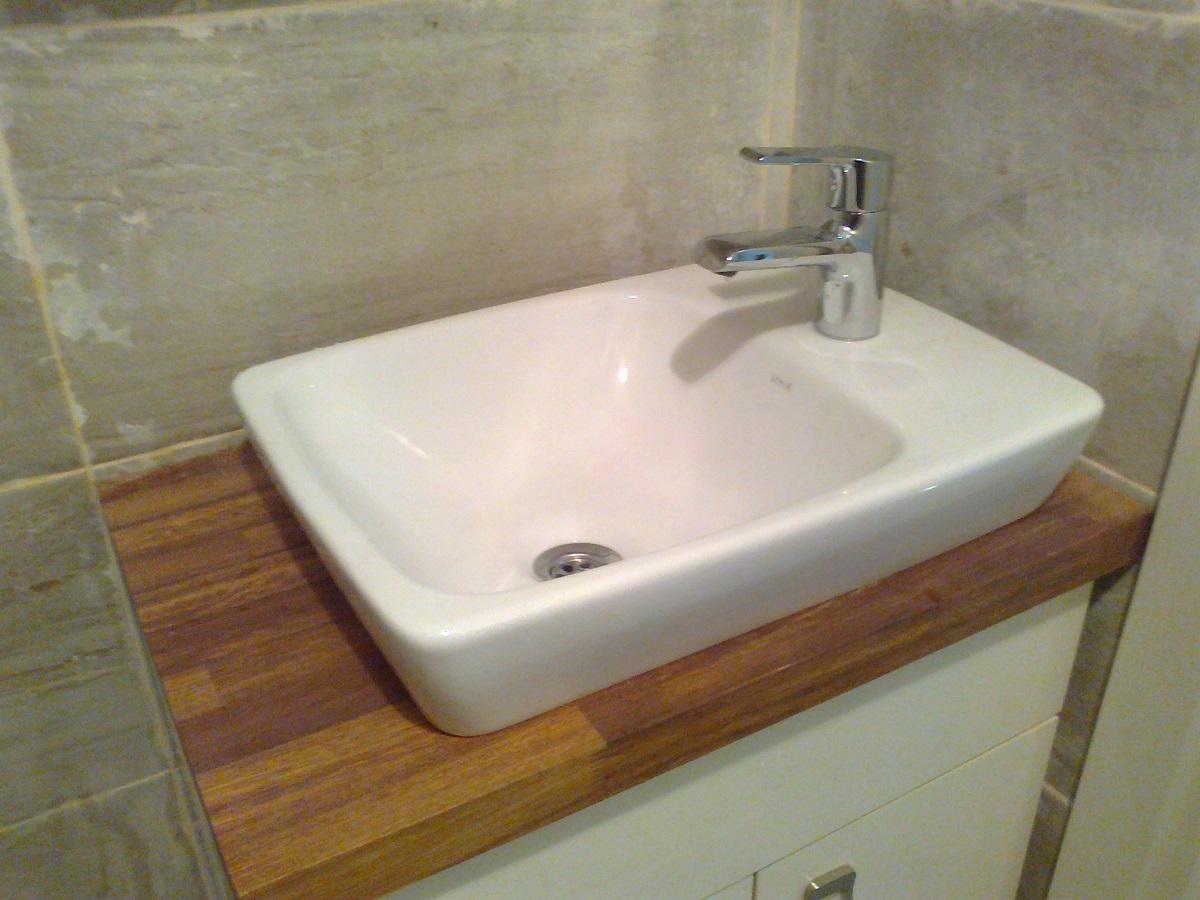 Masif Banyo Tezgahları Ahşap Banyo Tezgahları Solid