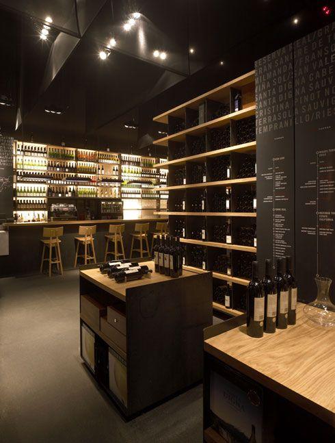 Pin masa restaurant on pinterest for Simple wine bar design
